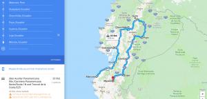 Ecuador Motorcycle Route