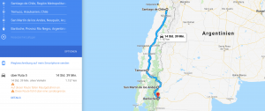 Chile Motorcycle Route