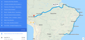 Brazil Motorcycle Route