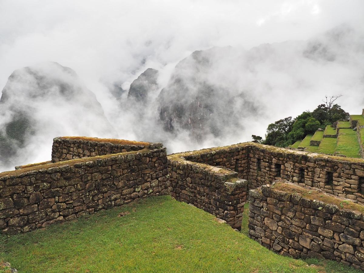 Machu Picchu, Walls