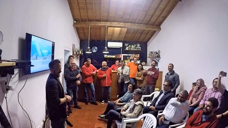 "Presentation at ""Clube Motard de São Miguel"", Azores, Portugal, May 2019"