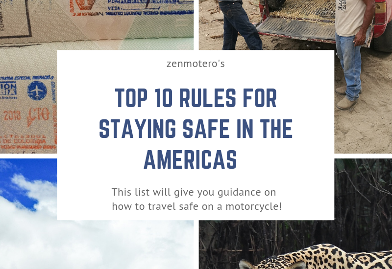 Top 10 Rules for Staying Safe in the Americas