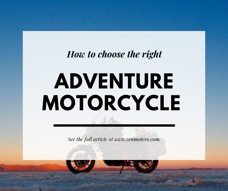 Adventure Motorcycle Choice