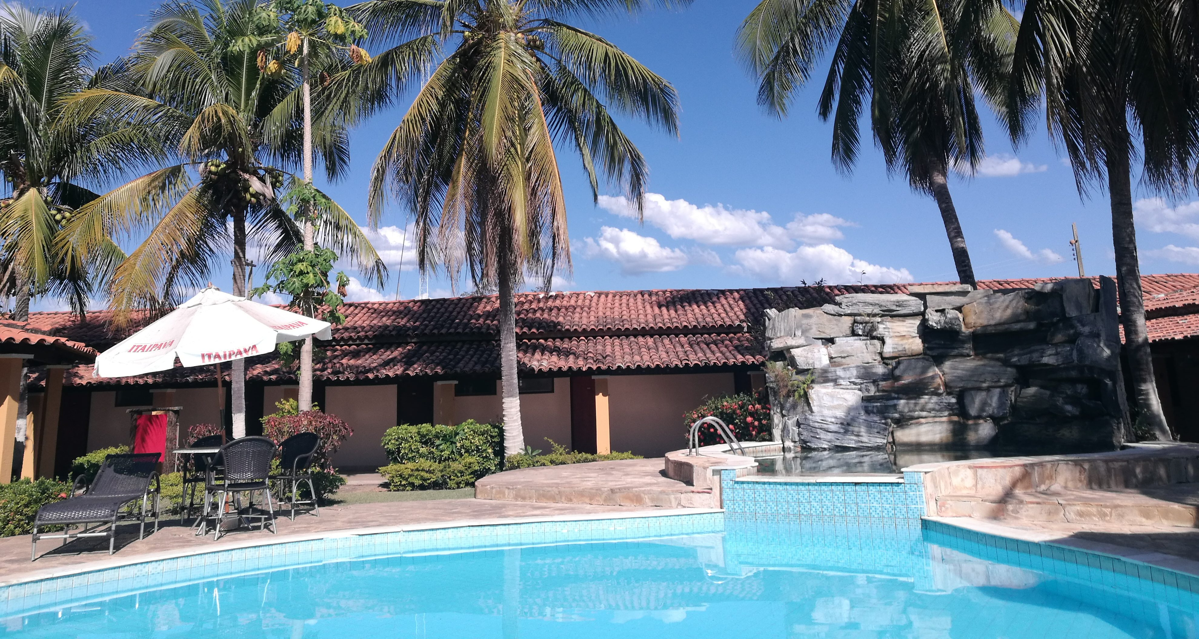 The hotel Pantanal Mato Grosso in Pixaim