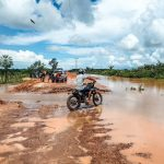 Road flooding in the Northeast of Brazil