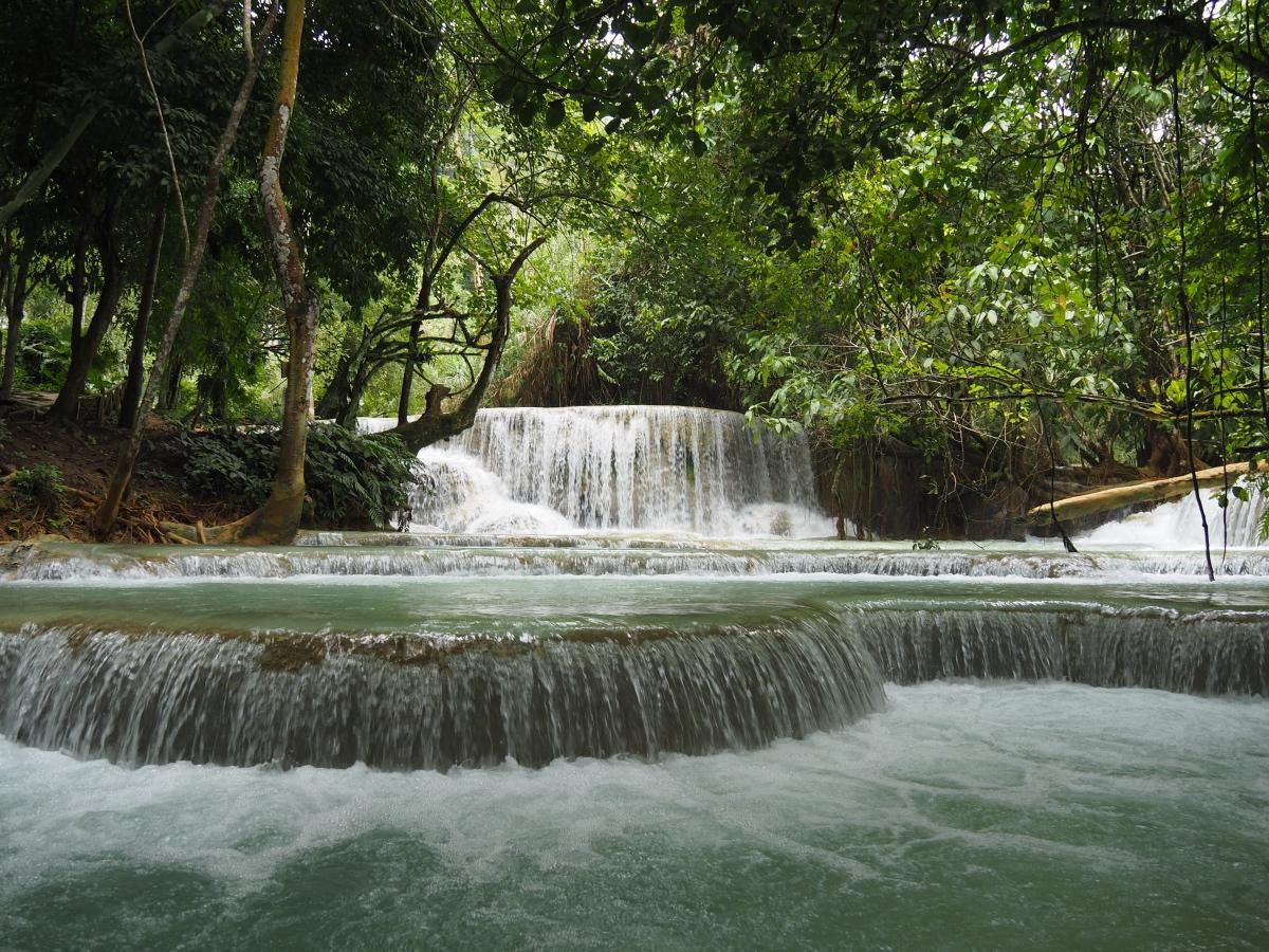 Water falls, Luang Prabang