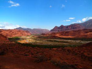 Landscape along Ruta 68 in Argentina